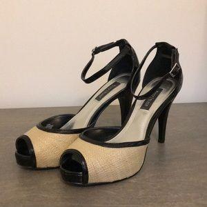WHBM heels. Size 5.5